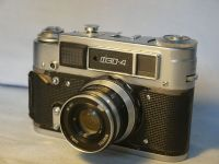 '  FED 4   ' Fed 4 Vintage Rangefinder Camera  c/w 53mm Lens   £19.99